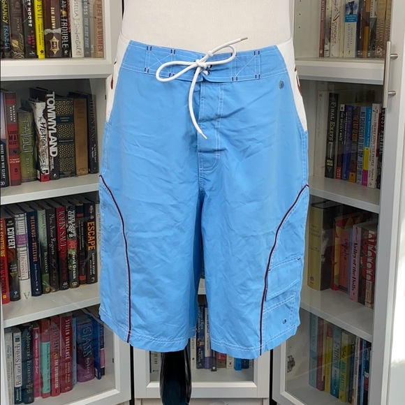 physical Science Other - Physical Science Light Blue/White Board Shorts